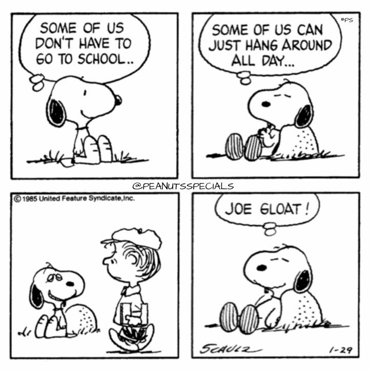 Snoopy- Joe Gloat