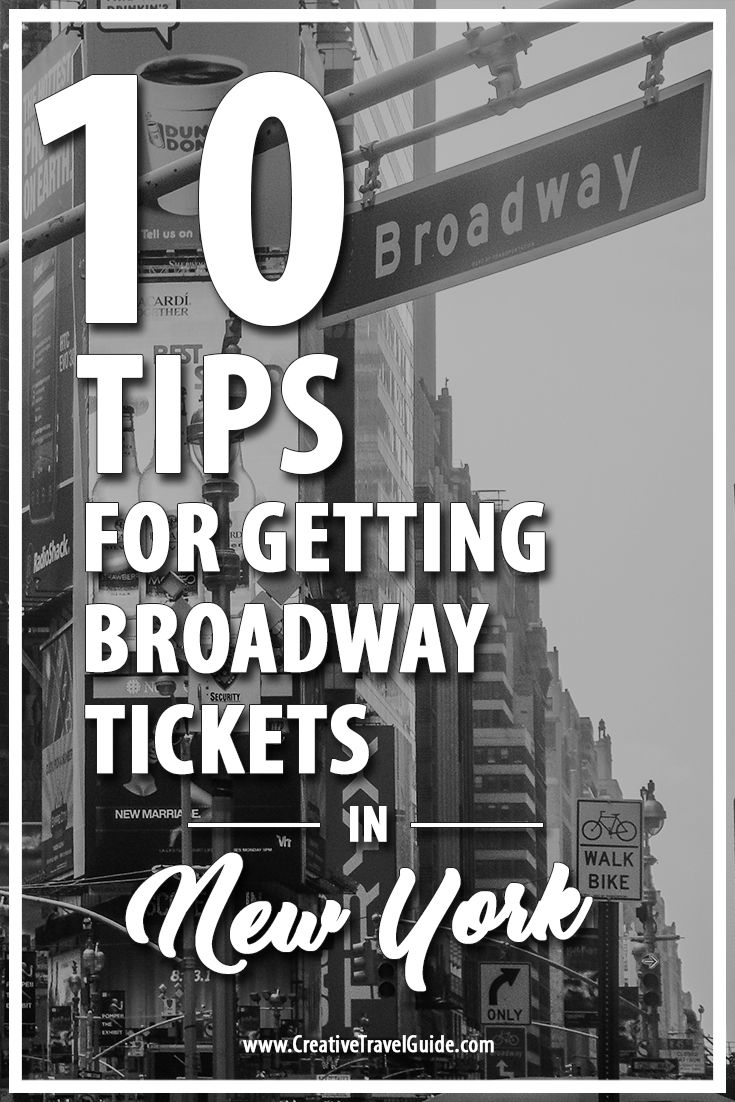 10 Top Tips for Getting Broadway Tickets in NYC – Pin This!