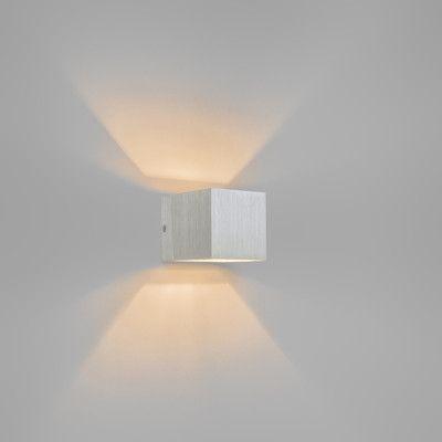 Wandlamp Transfer aluminium - Lampenlicht.nl