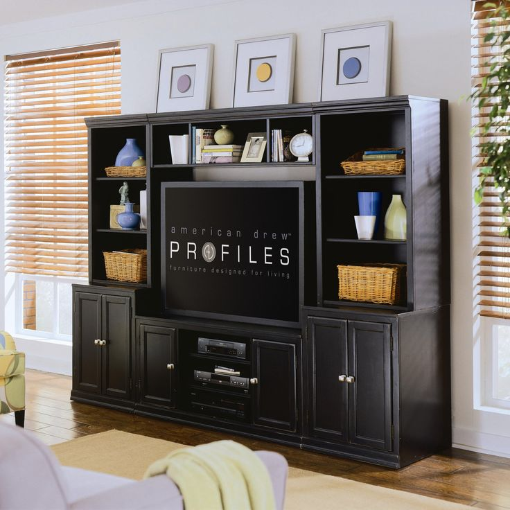18 best media unit images on pinterest living room entertainment centers and for the home. Black Bedroom Furniture Sets. Home Design Ideas