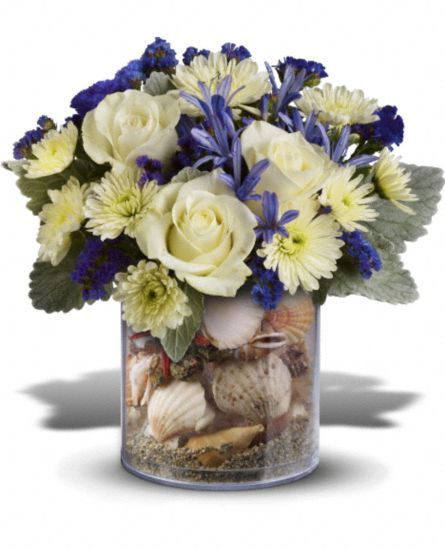 1000 images about floral com on pinterest conch shells for Arrangement petite cuisine