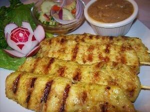 Chicken Sa-te' from Thai Chefs Restaurant in Santa Clarita, CA