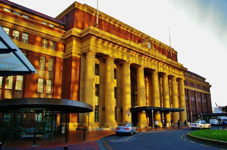Wellington Railway Station, Wellington New Zealand