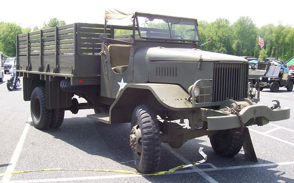 1943 FWD HAR-1 4-ton cargo, owned by David Firstman (USA)