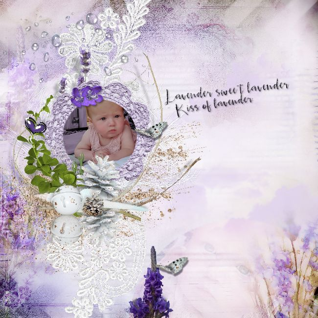 New In Store, Lace and Lavender , Model Dani used with permission.©Inadigital@rt2016. wilma4ever.com/... scrapfromfrance.f...