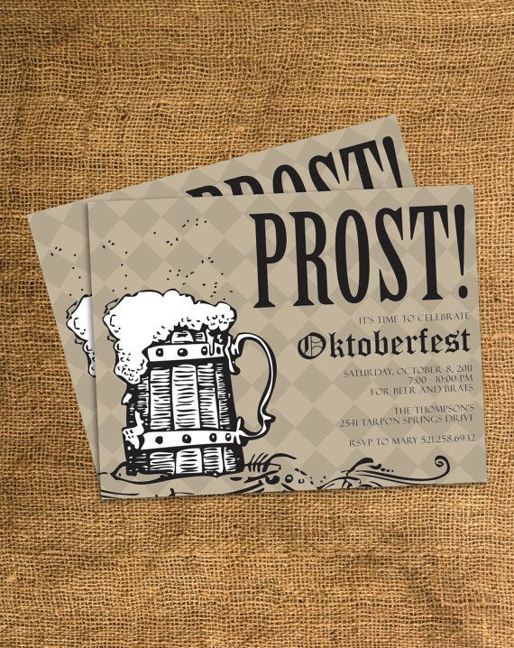 Best Oktoberfest Invitation Ideas On Pinterest Oktoberfest - Birthday invitation in germany