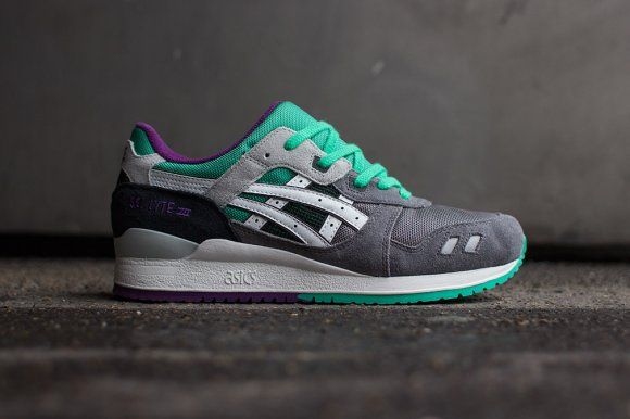 asics Gel-Lyte III - Grey/White Via: Tenisufki.eu