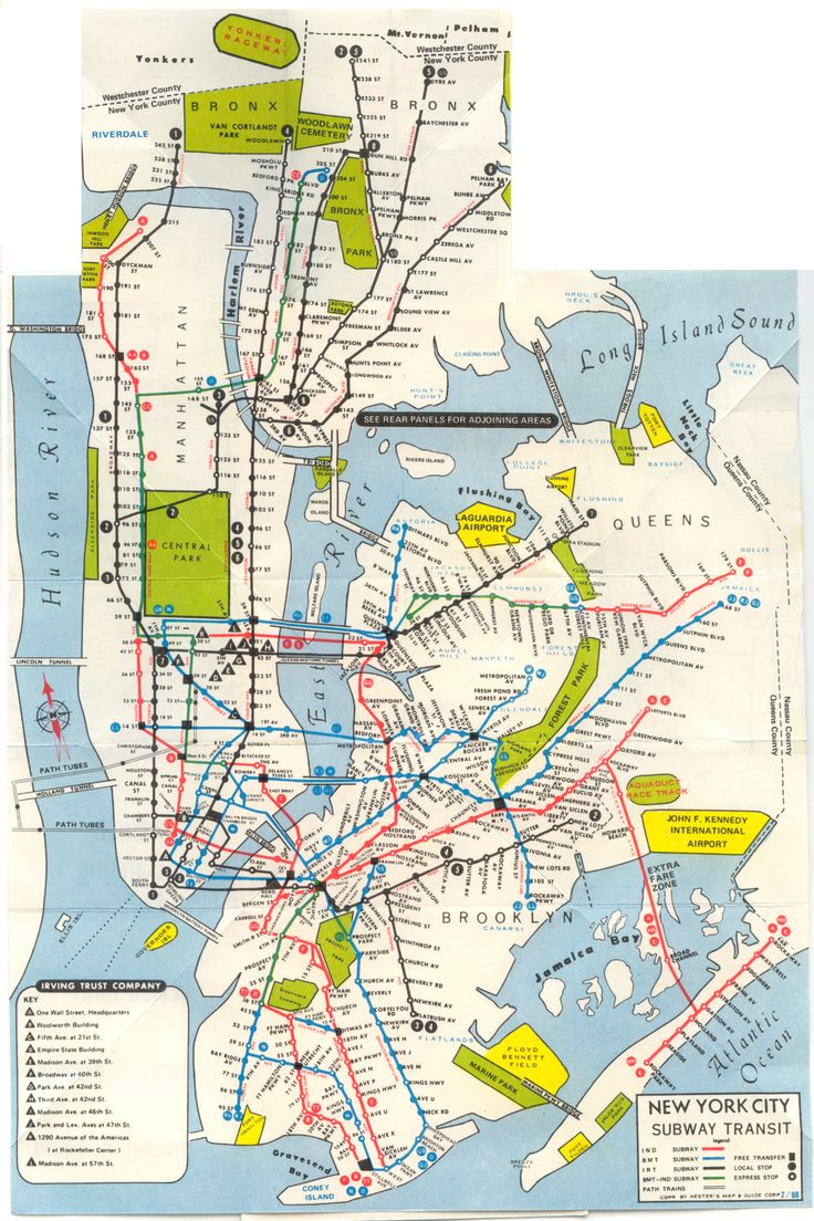 Best Images About Subways New York On Pinterest - Nyc subway map queens ny