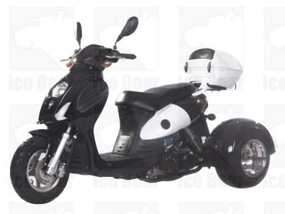 CMS 3 Wheel 49cc | 50 BULLS EYE Trike Moped | Gas Motor Scooter - FREE SHIPPING for Sale ( MP 12068 )