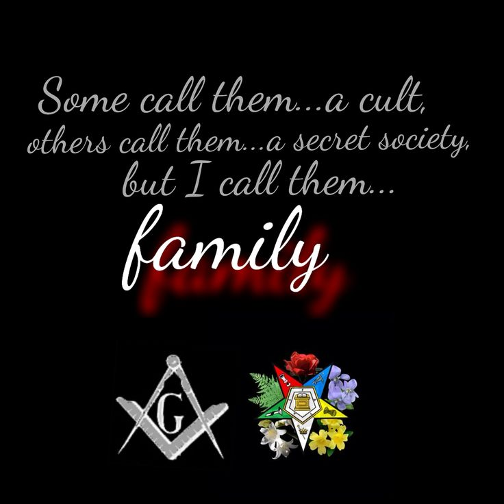 Order of Eastern Star, OES, and Freemason sister/brotherhood. My kind of fraternity.