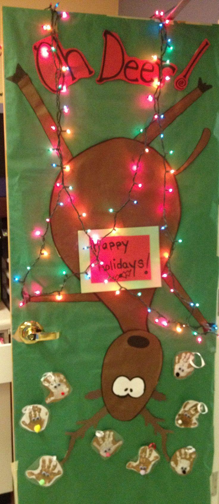 Christmas Door Decorations For Preschool Decoration Wall Ideas