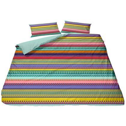 Schön Diese Farbenfrohe #Bettwäsche Ist Der Perfekte #Eyecatcher Für Dein  #Schlafzimmer! Ihre Extravagante