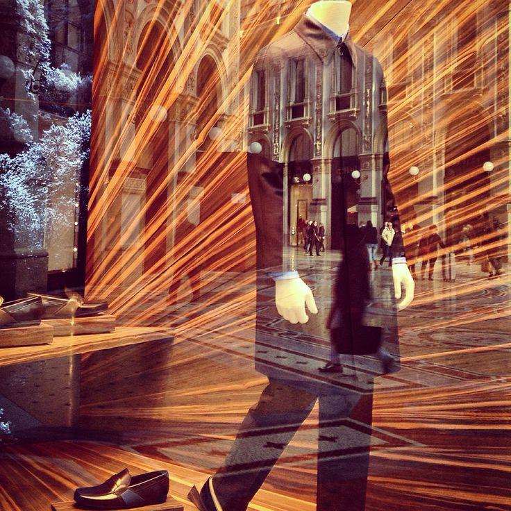 Prada shop Milan