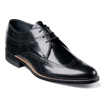 Stacy Adams Dayton Black Wingtip Style Dress Shoes When you are shopping  online for mens dress shoes that