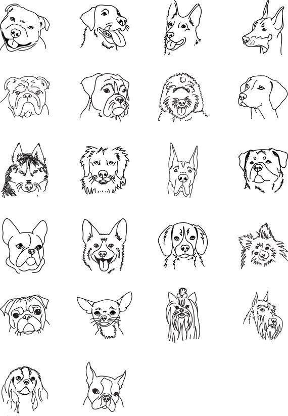 Chihuahua Address Stamp Personalized Dog Stamp