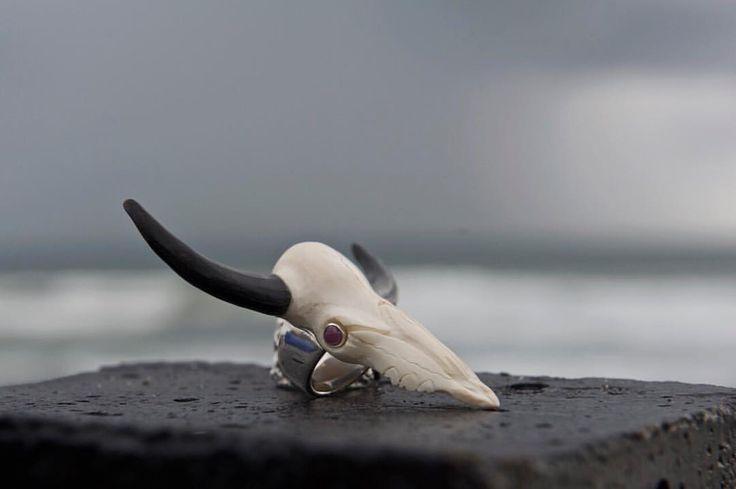 "98 отметок «Нравится», 2 комментариев — donnayolka.com (@donnayolka_com) в Instagram: «""KHAVROSHECHKA"" Silver Ring. Carved from cow bones. Ruby eyes 1️⃣8️⃣9️⃣$ #dykhavroshechka *…»"