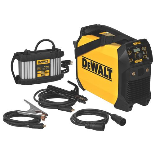 DeWalt Cordless Stick and TIG Welder - Tools of the Trade