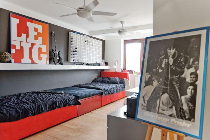 Pokój dzecięcy / Kidsroom  www.annakoszela.pl