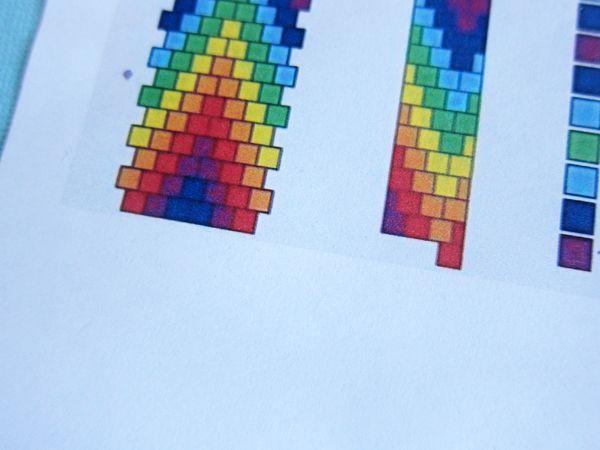 how to read a tubular bead crochet pattern