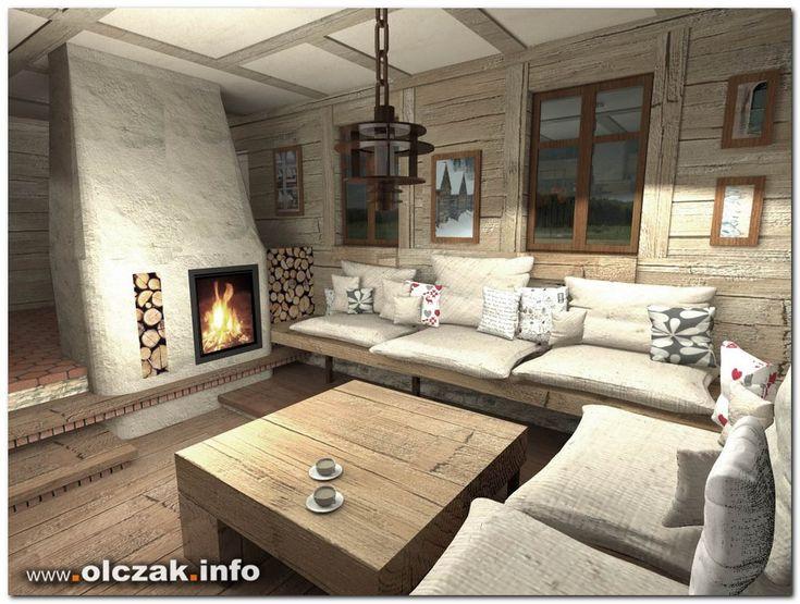 Architekt Maciej Olczak - dom rustykalny