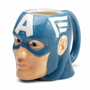 Captain America Molded Mugs