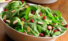 Recipe for Sizzler Spinach cranberry salad with poppyseed vinaigrette    SizzlerSalad_MED-(1).jpg
