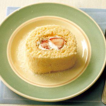 レシピ|栗原はるみオフィシャルサイト|ゆとりの空間 いちごのロールケーキ