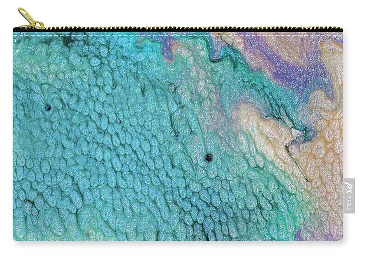 """#Tropical Thought Carry-All Pouch by #JuliaFineArt.  Our pouches are great.  They're availabe in sizes from 6"""" x 5"""" up to 12.5"""" x 8.5"""".  Each pouch is printed on both sides (same image)."""