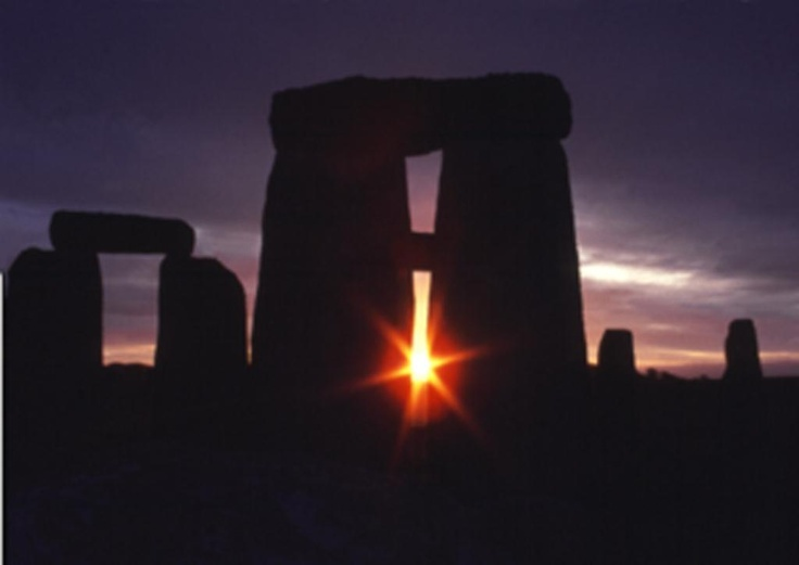 Sunrise  - Spring equinox, Stonehenge