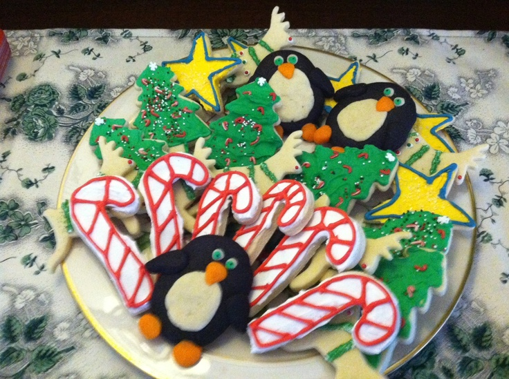 Cookies for the Holiday Inn Tour