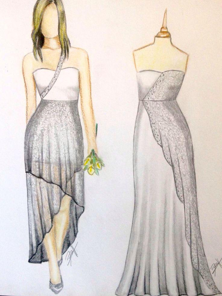 Wedding Dress - Air