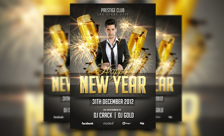 A new great new year flyer template! check it out at: http://awesomeflyer.com/shop/club-flyer/new-year-flyer-template/