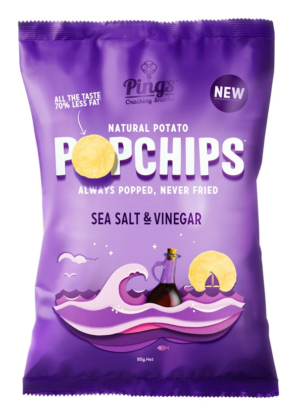 POPChips - great paper illustrations