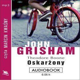 """John Grisham, """"Oskarżony"""", przeł. Lech Z. Żołędziowski, Albatros, Warszawa 2014. Jedna płyta CD, 6 godz. 6 min. Czyta Marcin Kwaśny."""