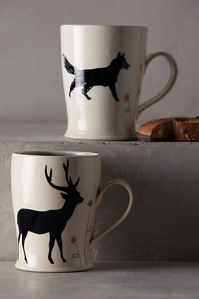 woodland shadow mug #anthrofave #anthropologie #homedecor