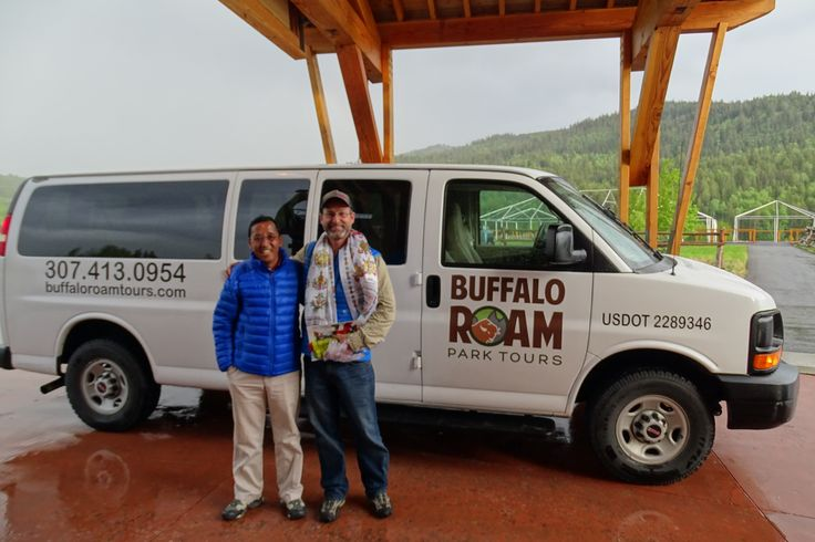 Apa Sherpa is a world-renowned Everest climbing guide and shares the world record of 21 summits to the globe's highest peak at 29,029 feet. We had the pleasure of taking Apa Sherpa, his family and Nepali friends on their first Yellowstone and Grand Teton Parks tour.