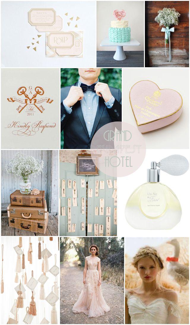 Grand Budapest Hotel Wedding Inspiration by London Bride