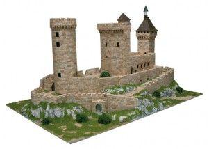 Castello di Foix scala 1:170