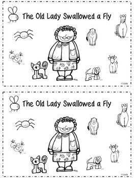 127 best images about Book: Old Lady Who Swallowed A.... on ...