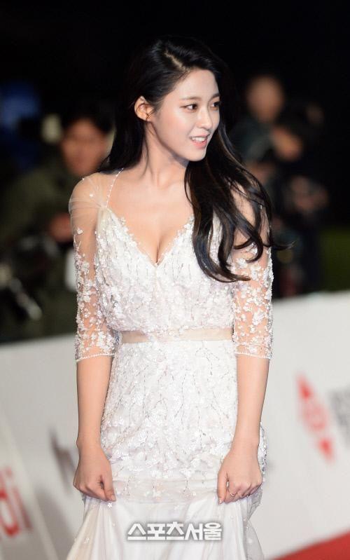 [SS포토]순백 드레스