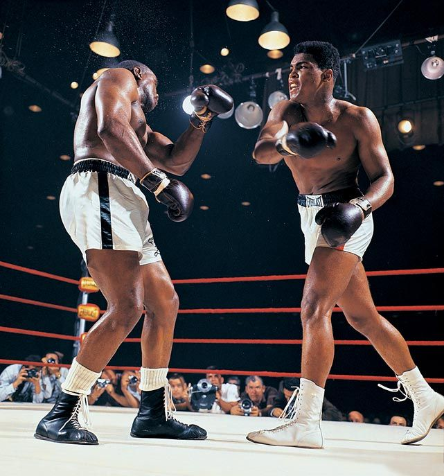 50 years ago today, 22-year-old challenger Cassius Clay (Muhammad Ali) battered the heavily favored heavyweight champion Sonny Liston in a bout that shook the boxing world. The fight ignited the career of one of sports' most charismatic and controversial figures, whose bouts often became social and political events rather than simply sports contests. (Neil Leifer/SI) GALLERY: Muhammad Ali vs. Sonny Liston I GALLERY: SI's 100 Greatest Photos of Muhammad Ali