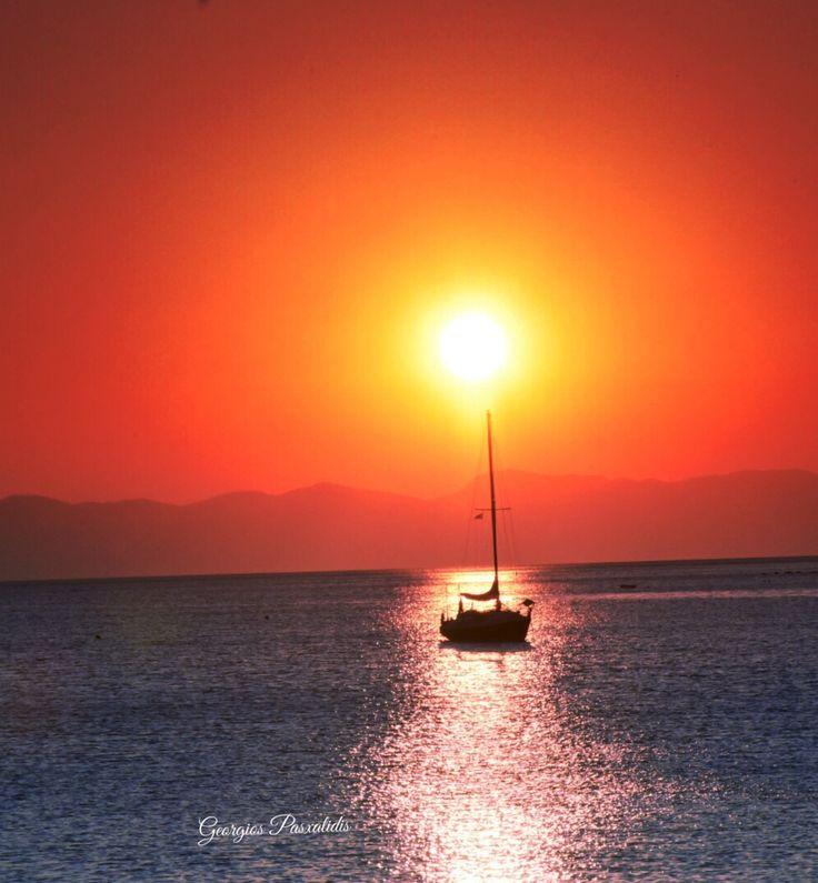 EVIA...AEGEAN SEA....GREECE.....
