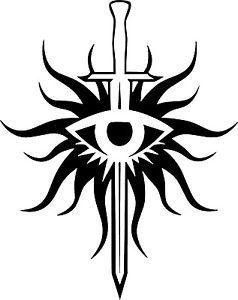 Dragon Age Inquisition Logo Vinyl Decal Sticker Xbox PS3 PS4 PC | eBay