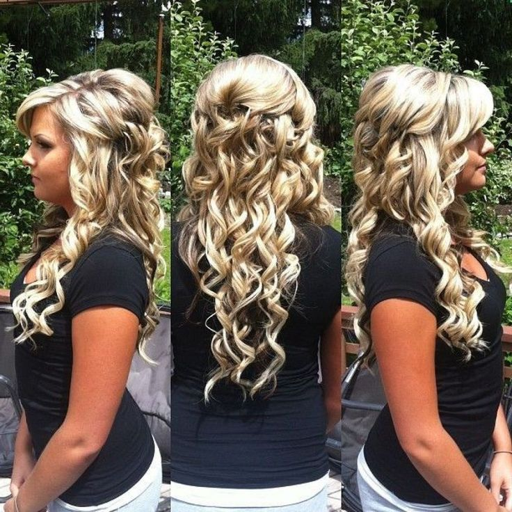 Long Prom Hairstyles Down - Women Hairstyle Trendy