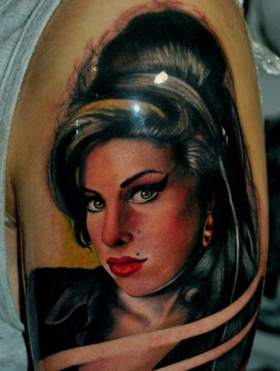 Amy Winehouse Tribute Tattoos: The Good, The Bad And The WTF