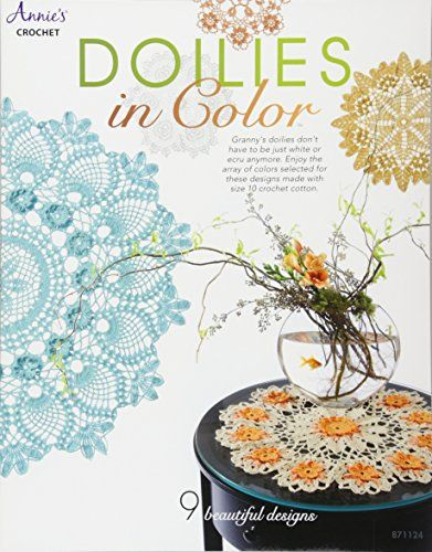 From 2.67 Doilies In Color (annie's Attic: Crochet)
