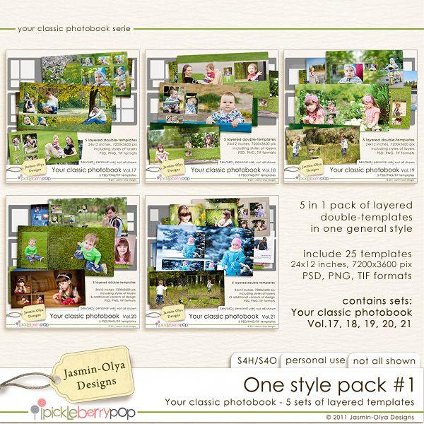 One style pack #1 (Jasmin-Olya Designs)