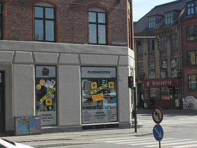 Street corner, western cph