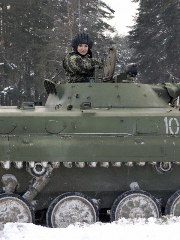 """Ukraine is known for being home to some of the most beautiful women in the world, and also these two.  It seems the gene pool is so refined in Ukraine that even their soldiers and gorgeous, and themilitarymust know it because every year they hold the """"Miss Trooper"""" contest,a beauty pageant to determine the most  ..."""