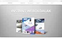 Reszponzív webdesignés egyedi grafikai tervezés ihlette weboldal készítés.A mobilbarát GALODZE INSTANT WEBOLDALAKcsak arra várnak, hogy az Ön stílusára szabjuk Őket. Nézzen körbe a http://www.galodze.com/instantweboldalak oldalon, ahol bemutató videókat és pontos árakat is talál.
